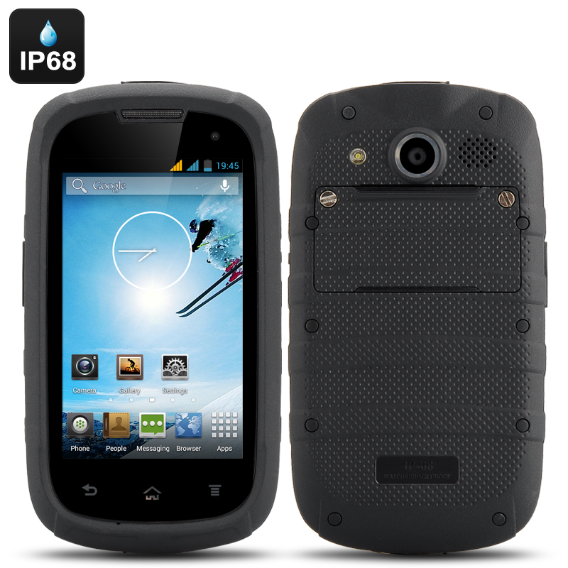 4 Inch Android 4.2 Rugged Phone produktbilde