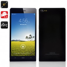 6 Inch Android 4.4 Phone 'Gravity II' (Black) produktbilde