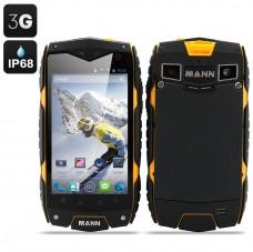 MANN ZUG 3 Android 4.3 Smartphone (Yellow) produktbilde