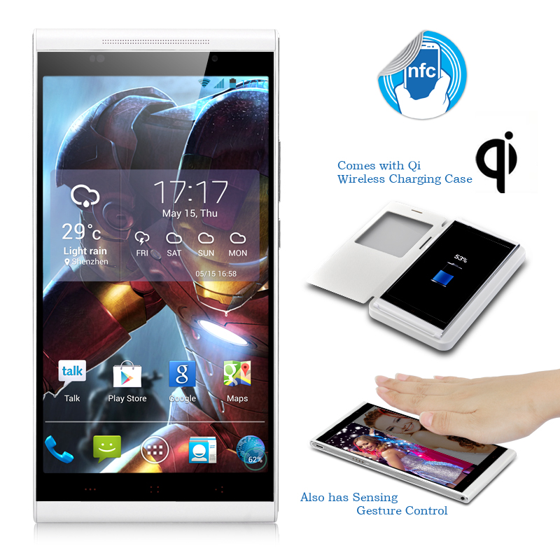 KingZone K1 Turbo Phone (White) produktbilde