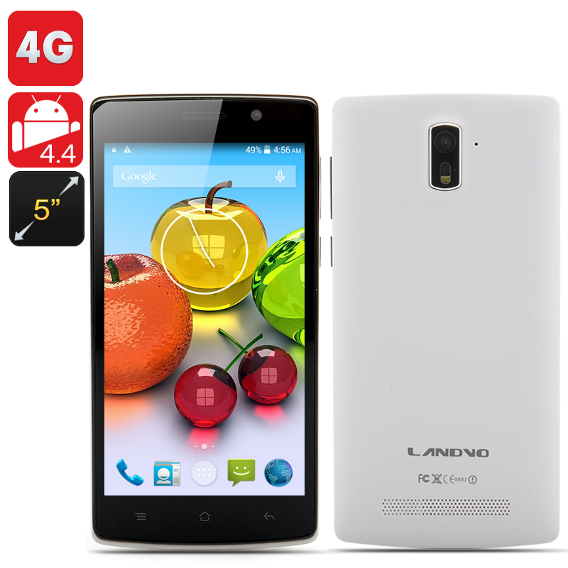 Landvo L200G Phone (White) produktbilde