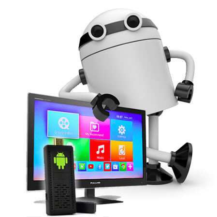 Android 4.2 Quad Core CPU TV Dongle «Bee Box» – Keyboard