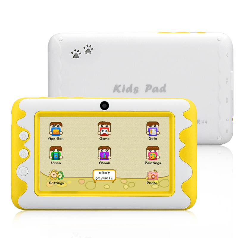 Venstar K4 Kids Pad Tablet (Yellow) produktbilde