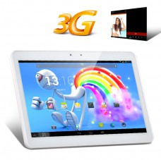 10.1 Inch IPS 3G Tablet PC (White) produktbilde