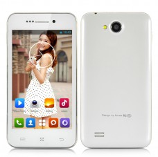 4 Inch Dual Core Android Smartphone (White) produktbilde