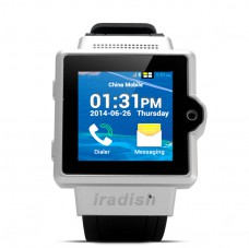 iradish i6 Android Watch Phone (Silver) produktbilde