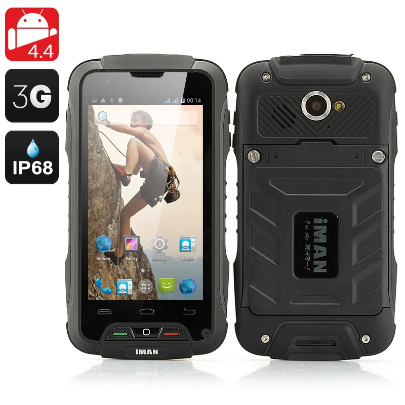 iMAN V3 Rugged Phone (Black) produktbilde