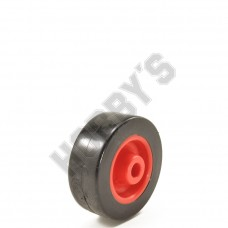 Red Center Black P.V.C. Tyre