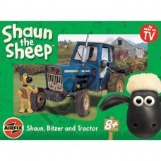 Shaun The Sheep With Tractor