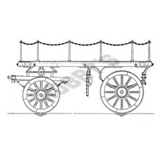 Flat Lurry (Heavy Duty Dray) Plan 1/8th Scale